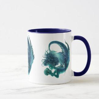 Dunkle Meerjungfrau-Tasse - Geheimnis-Küsse Tasse