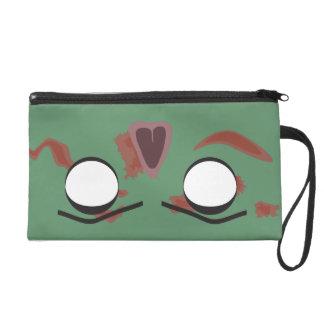 Dunkle Zombie-Gesichts-Tasche