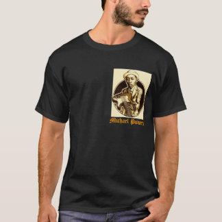 Dunkler Entwurf T-Stück der POWER T-Shirt