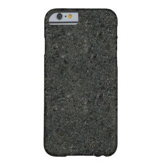 Dunkler konkreter überzogener iPhone 6 Kasten Barely There iPhone 6 Hülle