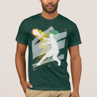 Dunkles das Tennis-T-Shirt der Männer T-Shirt