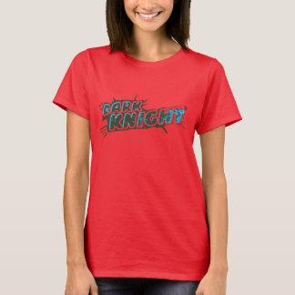 Dunkles Ritter-Logo T-Shirt
