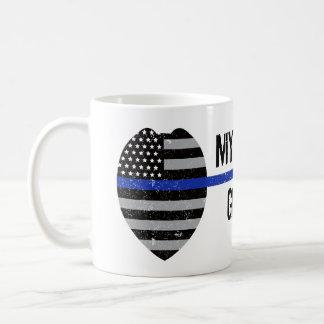 Dünne blaue Linie, Ihr sechs erhalten, Tasse