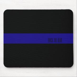 Dünne blaue Linie personalisierte Mausunterlage Mousepad