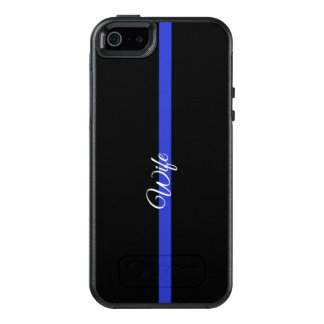 Dünne Symmetrie Iphone SE/5/5s Ca Blue Lines OtterBox iPhone 5/5s/SE Hülle