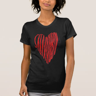 Dünnes Jungen-Herz T-Shirt
