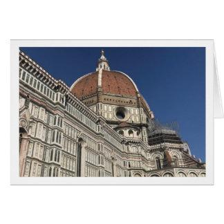 Duomo-Gruß-Karte Karte