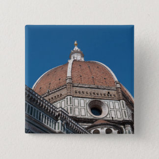 Duomo in Florenz Italien Quadratischer Button 5,1 Cm