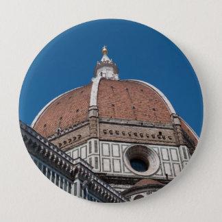 Duomo in Florenz Italien Runder Button 10,2 Cm