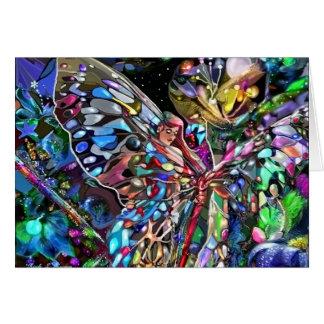 Durch die Flügel eines Schmetterlinges Karte