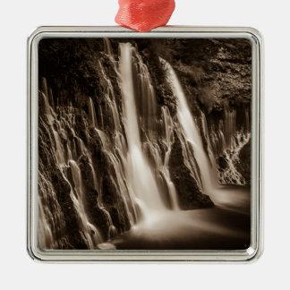 Durch die Sprünge Burney Fälle Silbernes Ornament