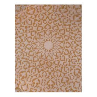 Durchdachter gemalter Osmaneentwurf Postkarte