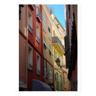 Durchgang in Monte Carlo, Monaco Postkarte