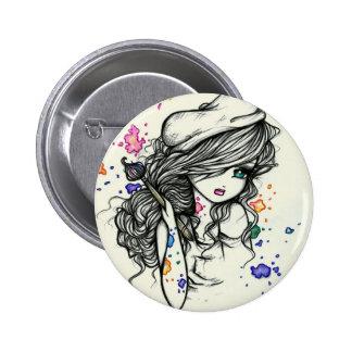 Durchschlag der runder button 5,7 cm