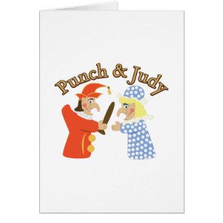 Durchschlag u. Judy Grußkarte