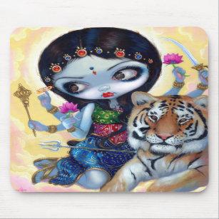 """""""Durga und der Tiger"""" Mousepad"""