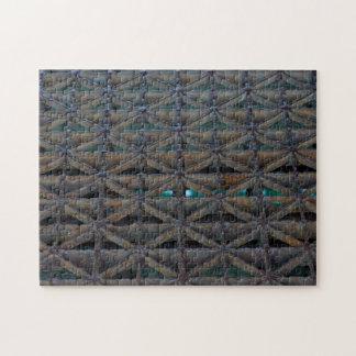 Dusable Brücke abstrakt Puzzle