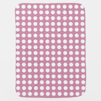 Düstere rosa Tupfen-Baby-Decke Baby-Decke