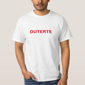 Duterte Shirt on-line