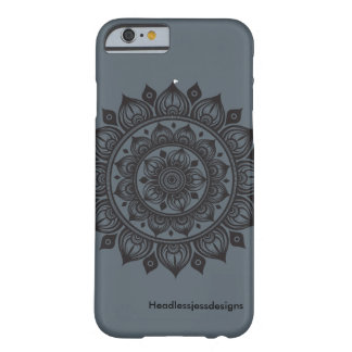 Dutzend Zwiebel-Mandala iPhone Barely There iPhone 6 Hülle