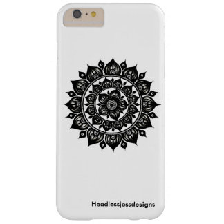 Dutzend Zwiebel-Mandala iPhone Fall Barely There iPhone 6 Plus Hülle