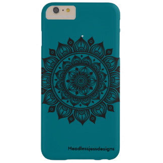 Dutzend Zwiebel-Mandala iPhone Fall-Türkis Barely There iPhone 6 Plus Hülle
