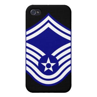 E-8 SMSgt älteres Oberfeldwebel U.S.A.F. iPhone 4 Schutzhüllen