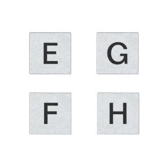 E- bis h-Rechtschreibungsmagneten Stein-Magnet