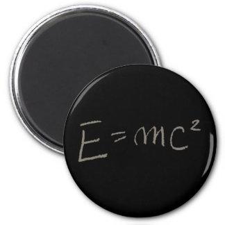 E=MC2 RUNDER MAGNET 5,7 CM