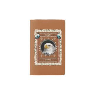 Eagle - Geist-Notizbuch-Moleskin-Abdeckung Moleskine Taschennotizbuch