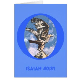 Eagles-Flügel - Jesaja-40:31 Karte