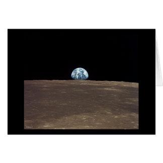 Earthrise - Apollo 11 Karte