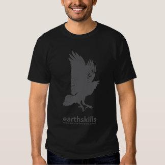 EarthSkills Raben-Schwarz-T-Stück T-shirt