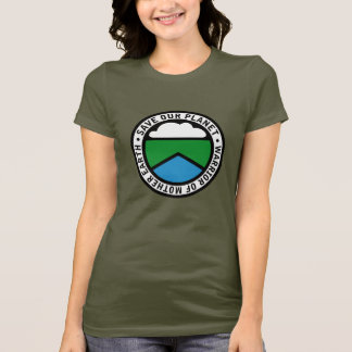 Earthwarriorblue2 T-Shirt