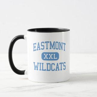 Eastmont - Wildkatzen - hoch - Wenatchee Tasse