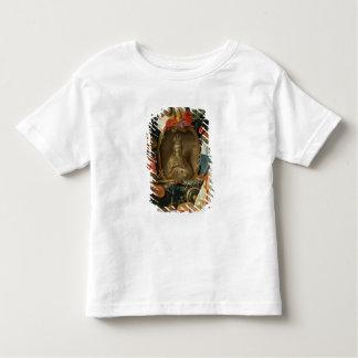 Ecclesia umgeben durch Symbole der Eitelkeit Kleinkinder T-shirt