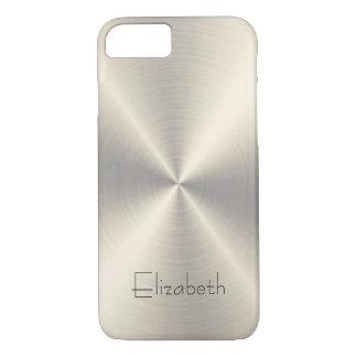 Edelstahl-Metall iPhone 8/7 Hülle
