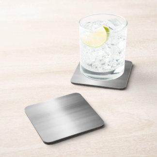 Edelstahl-Metallblick Getränke Untersetzer