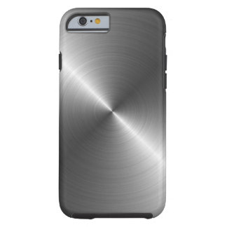 Edelstahl-Metallblick iPhone 6 Fall Tough iPhone 6 Hülle