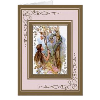 Eden Eve und die Schlange Karte
