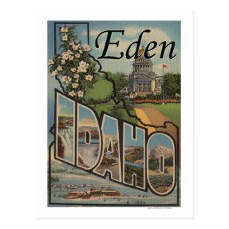 Eden, IdahoLarge Buchstabe ScenesEden, Postkarte