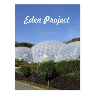 Eden-Projekt Postkarte