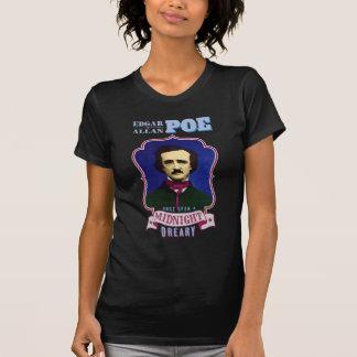 Edgar Allan Poe-Raben-Zitat-Porträt Hemden