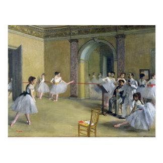 Edgar Degas   das Tanz-Foyer Postkarte