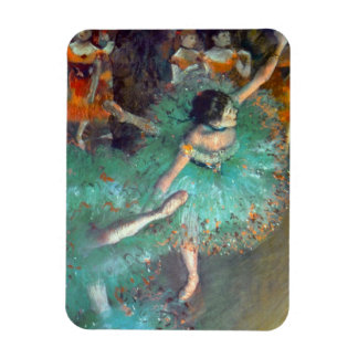 Edgar Degas - die grünen Tänzer - Ballett-Tanz Magnet