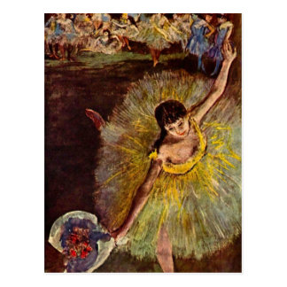 Edgar Degas - Ende der Arabeske Postkarte