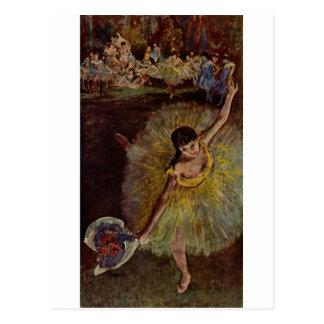 Edgar Degas - Ende von Arabeske 1877 Postkarten