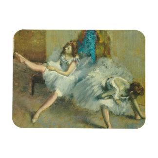 Edgar Degas | vor dem Ballett, 1890-1892 Magnet