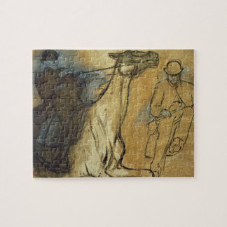 Edgar Degas | zwei Studien der Reiter Puzzle