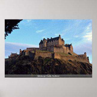 Edinburgh-Schloss, Schottland Poster